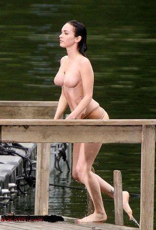 Megan Fox Uncensored Topless