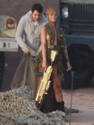 Rihanna Music Video Nip Slip