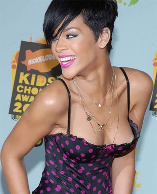 Rihanna Kids Choice Awards Nip Slip